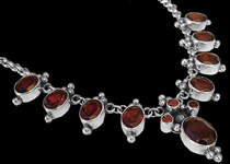 Gemstone Necklaces - Designer Necklaces - Sterling Silver Necklaces