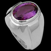 Sterling Silver Amethyst Rings