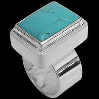 Silver and Turquoise Rings