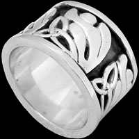 Sterling Silver Celtic Rings - Silver Rings