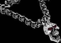 Silver Gothic Necklaces