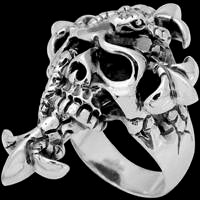 Sterling Silver Gothic Rings